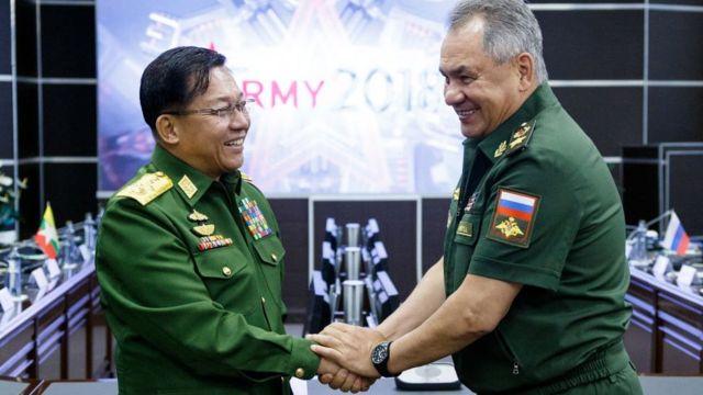 Глава хунты в Мьянме назвал РФ дружественной страной