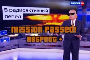 75% жителей России довольны, что их страну все боятся