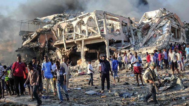 Взрыв в Могадишо