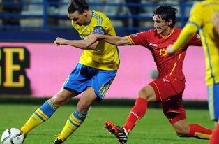 Евро-2016: Испания и Словакия опережают Украину, ничья Швеции и Черногории