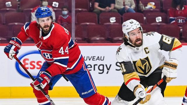 NHL: Монреаль обыграл Вегас в овертайме и вышел вперед в серии