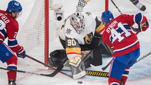 NHL: Вегас обыграл Монреаль в овертайме и сравнял счет в серии