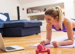 Motify: персональные занятия фитнесом, не выходя из дома