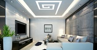 Преимущества пользования натяжным световым потолком