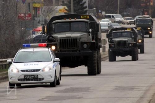 В Крыму открыли предупредительный огонь перед наблюдателями ОБСЕ