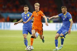 Евро-2020: Нидерланды вырвали победу над Украиной, непростые победы Австрии и Англии