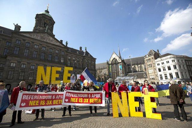 Референдум в Нидерландах против ассоциации Украины и ЕС помогал организовать идеолог ДНР Корнилов