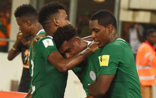 Нигерия - Замбия