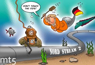 Bloomberg: власти Германии отказываются останавливать Северный поток-2