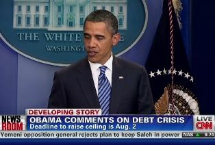 Барака Обама на CNN