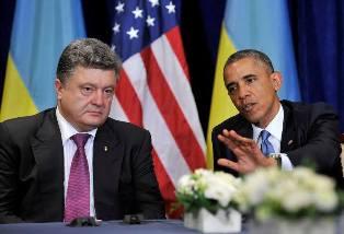 Барак Обама и Петр Порошенко