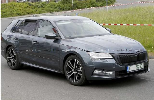 Skoda Octavia 2020: самая ожидаемая премьера Франкфурта?