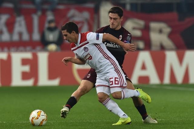 Лига Европы: Милан вылетает от Олимпиакоса, Русенборг выбивает Лейпциг