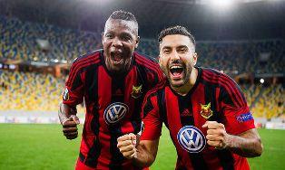 Лига Европы: Эстерсунд побеждает Заря и выходит в 1/16 финала