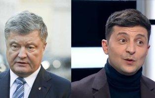 Есть ли шансы у Порошенко победить Зеленского?