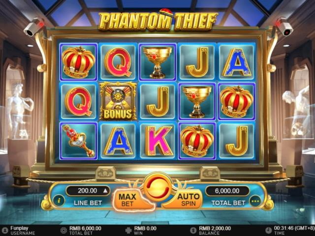 Ограбление музея: обзор игры Phantom Thief