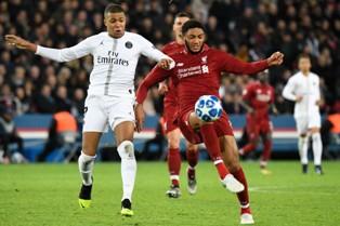 Лига Чемпионов: важнейшая победа ПСЖ над Ливерпулем, Тоттенхэм обыграл Инте ...