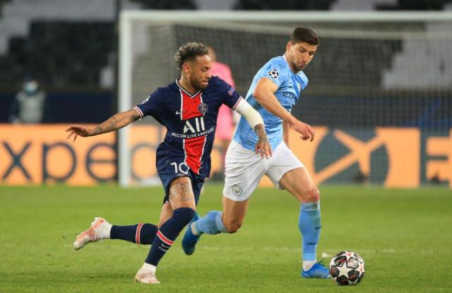 Лига Чемпионов: ПСЖ уступает Манчестер Сити