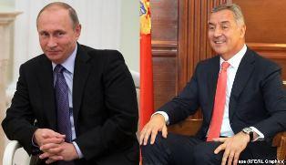 Путин и Джуканович