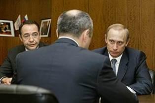 Путин и Лесин
