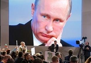 Путин наградил российские СМИ за Крым