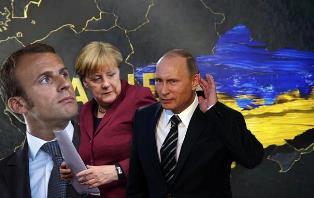 Путин, Меркель и Макрон обсудят ситуацию на Донбассе без Зеленского