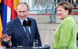 Встреча Путина и Меркель: поддержка Украины сошла на нет?