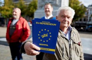 На референдуме в Нидерландах лидируют сторонники Украины