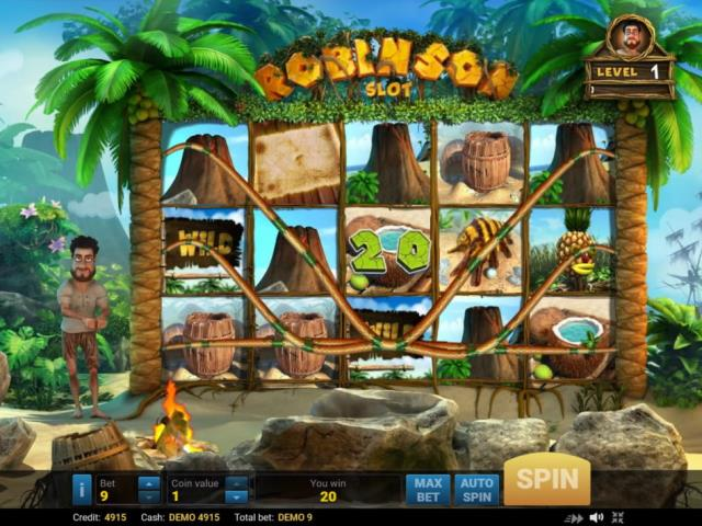Приключения на острове: обзор игры Robinson