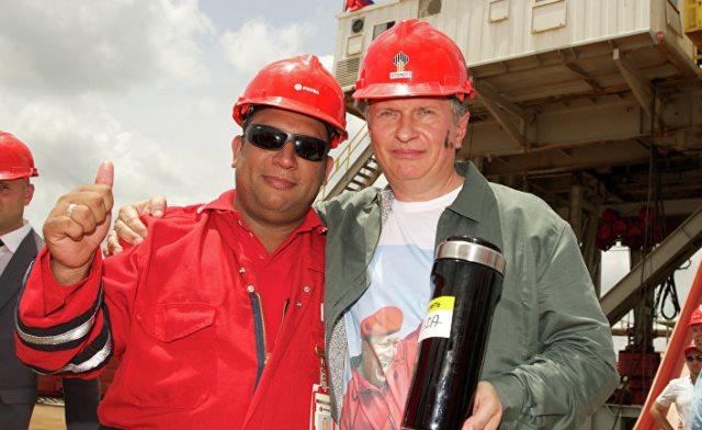 Акции Роснефти рухнули из-за санкций США по Венесуэле