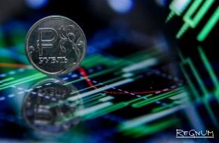Российский рубль достиг месячного максимума в отношении к доллару