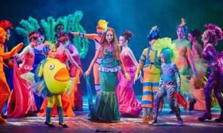 Спектакль «Русалочка» на сцене Харьковского театра для детей и юношества