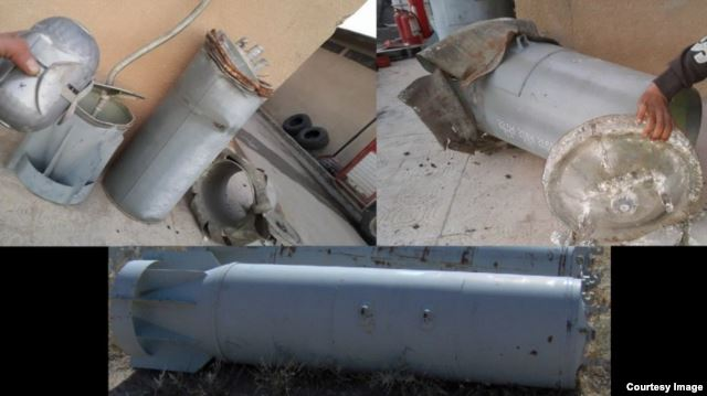 Россия использует в Сирии запрещенные кассетные бомбы. Доказательства