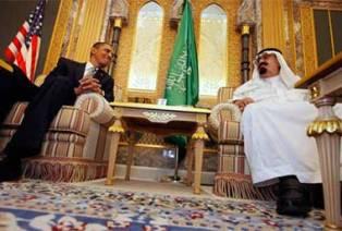 Обама и король Саудовской Аравии