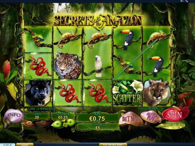 Путешествие в Амазонию: обзор игры Secrets of the Amazon от официального портала клуба Гудвин