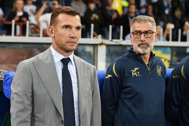 Шевченко: мы хотели продлить контракт со сборной Украины