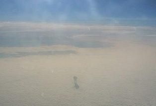 Пассажир самолета сделал странный снимок
