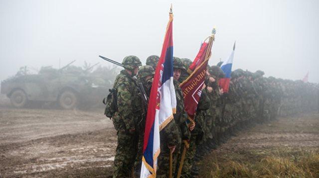 В Беларусь прибудут военные из РФ и Сербии