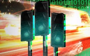 В Новосибирске местные светофоры будет регулировать система ГЛОНАСС