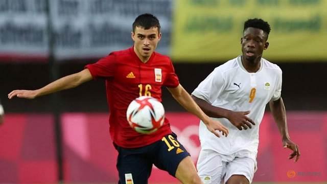 Футбол на ОИ: Испания обыграла Кот-д'Ивуар, Бразилия и Мексика в полуфинале