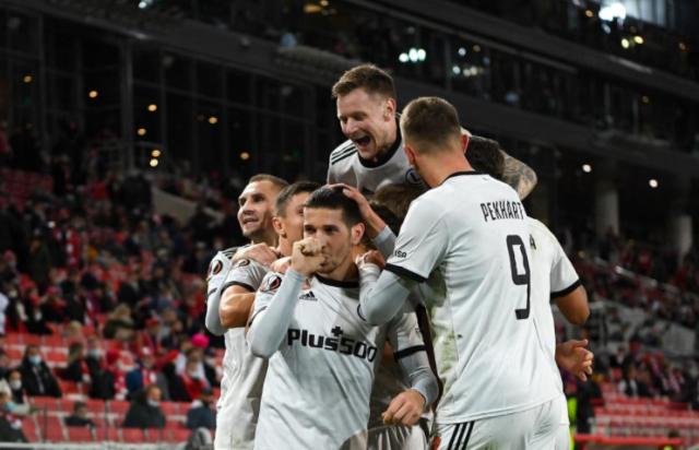 Лига Европы: Легия обыграла Спартак в Москве