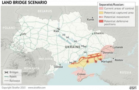Разведка Stratfor опубликовала три сценария нападения России на Украину