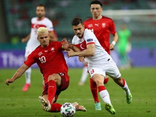Евро-2020: Швейцария обыграла Турцию, Италия набирает максимум очков