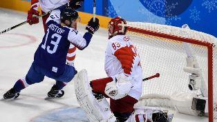 Хоккей на ОИ-2018: Россия и США проваливают старт