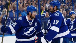NHL: Тампа впервые в истории выиграла регулярный чемпионат