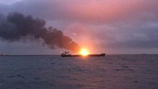 Загоревшиеся в Керченском проливе танкеры были в санкционном списке США