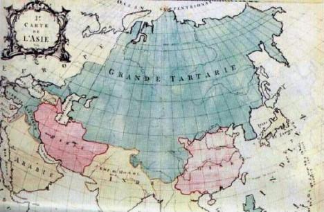 Карта Британской энциклопедии