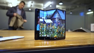 TCL разработала планшет, который складывается втрое и превращается в толстый смарфтон