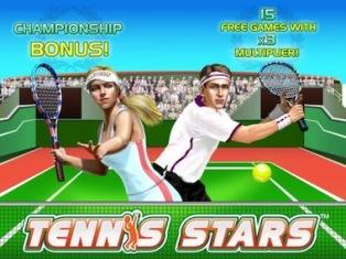 Tennis Stars: стань первой ракеткой в увлекательной игре
