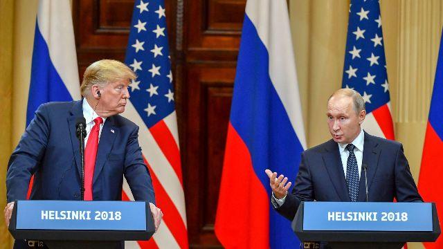 Трамп и Путин в Хельсинки